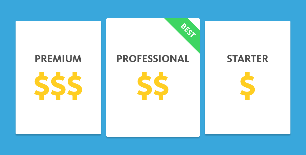 B2B Software pricing