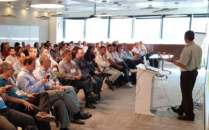 marketing seminar with audience